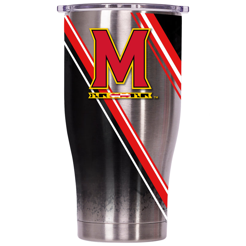 Maryland Double Stripe Wrap 27oz Chaser - ORCA