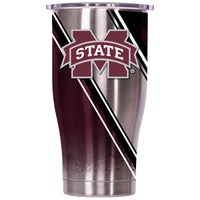 Mississippi State Double Stripe Wrap 27oz Chaser - ORCA