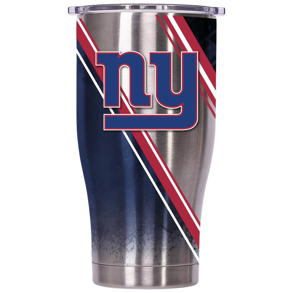 New York Giants 27 oz. Double Stripe Wrap - ORCA