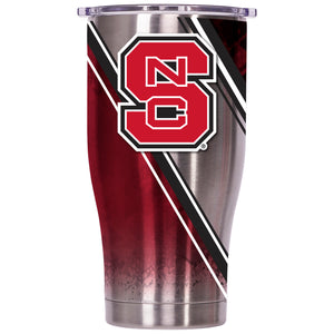 North Carolina State Double Stripe Wrap 27oz Chaser - ORCA