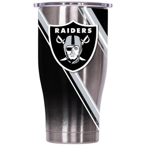 Oakland Raiders Double Stripe Wrap Chaser 27oz - ORCA