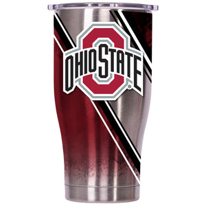 Ohio State Double Stripe Wrap 27oz Chaser - ORCA