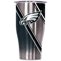 Philadelphia Eagles Double Stripe Wrap Chaser 27oz - ORCA