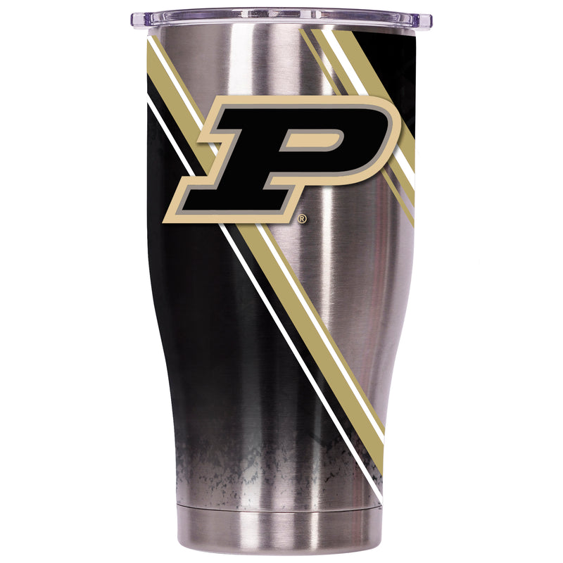 Purdue University Double Stripe Wrap 27oz Chaser - ORCA