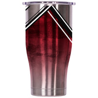 Jacksonville State Double Stripe Wrap 27oz Chaser - ORCA