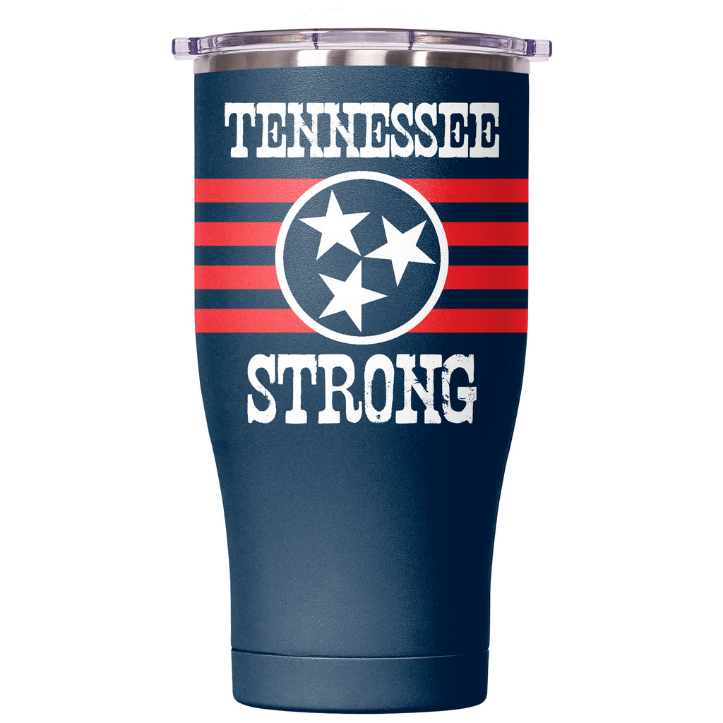 Tennessee Strong Navy/Clear Chaser 27oz - ORCA