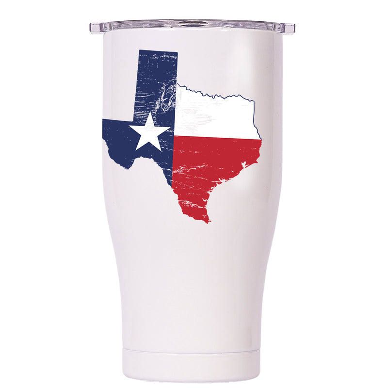 Texas State Flag Distressed Chaser 27oz - ORCA