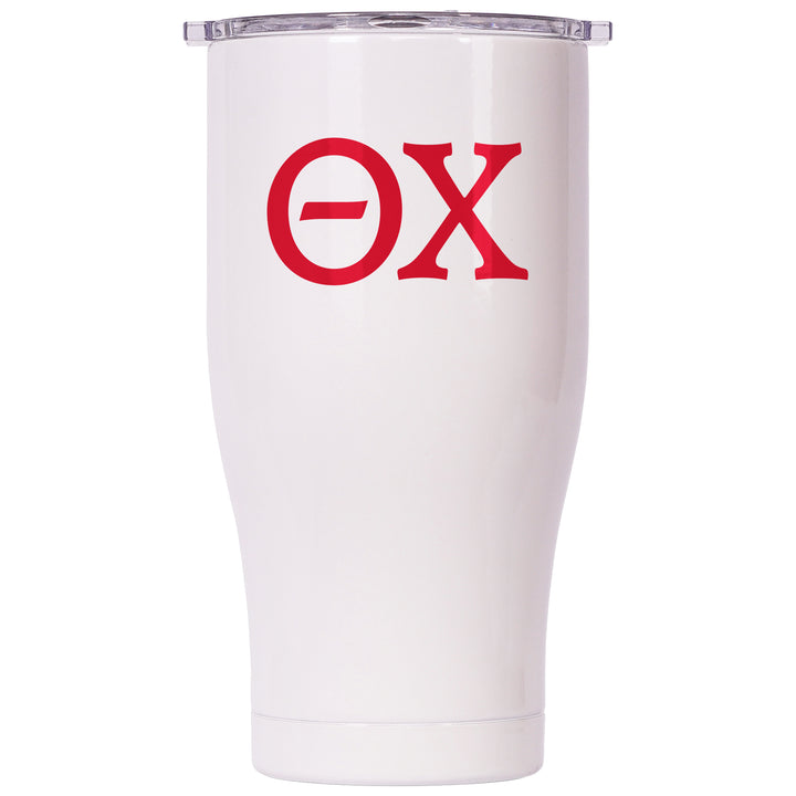 Theta Chi Pearl/Clear Chaser 27oz - ORCA