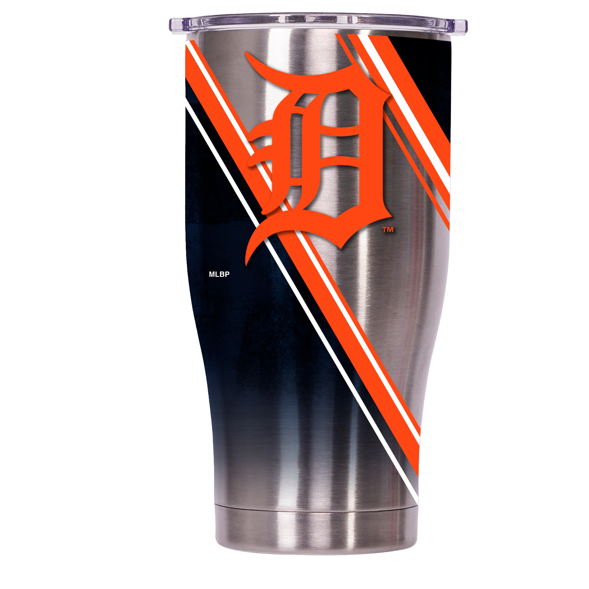 Detroit Tigers Double Stripe Wrap Chaser 27oz - ORCA