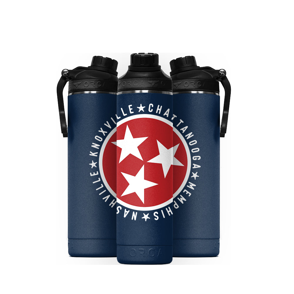 Tennessee Tristar Cities Hydra 22 oz Navy - ORCA