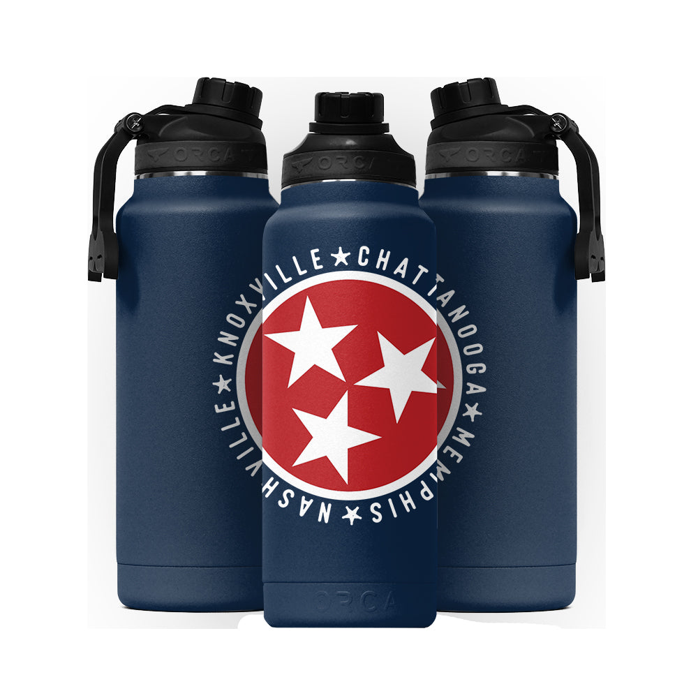 Tennessee Tristar Cities Hydra 34 oz Navy - ORCA