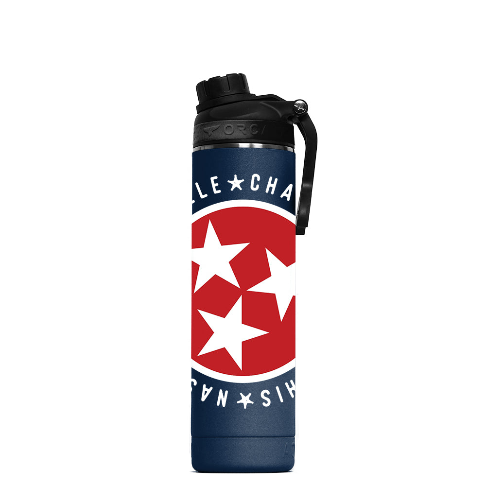 Tennessee Tristar Cities Hydra 22 oz Navy