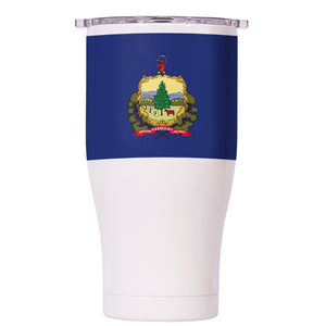 Vermont State Flag Chaser 27oz - ORCA