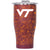 Virginia Tech Floral Chaser 27oz Maroon/Clear - ORCA