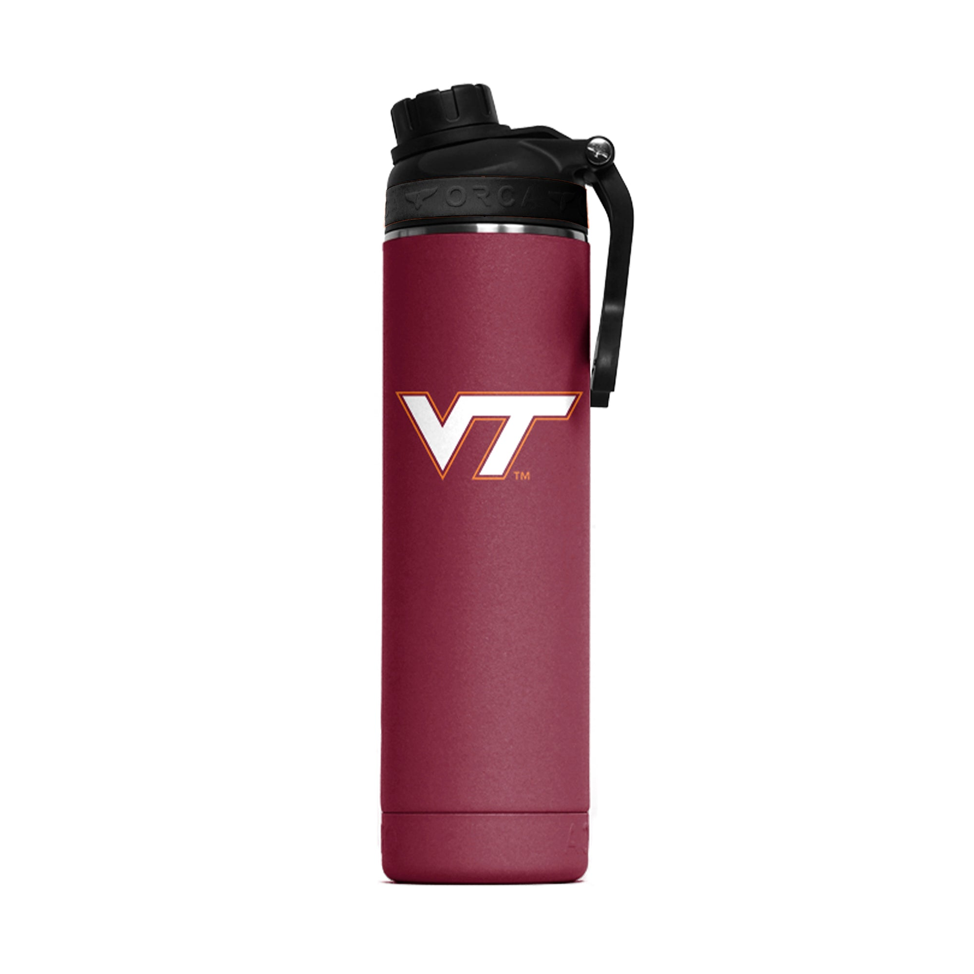 Virginia Tech Color Logo Hydra 22oz - ORCA