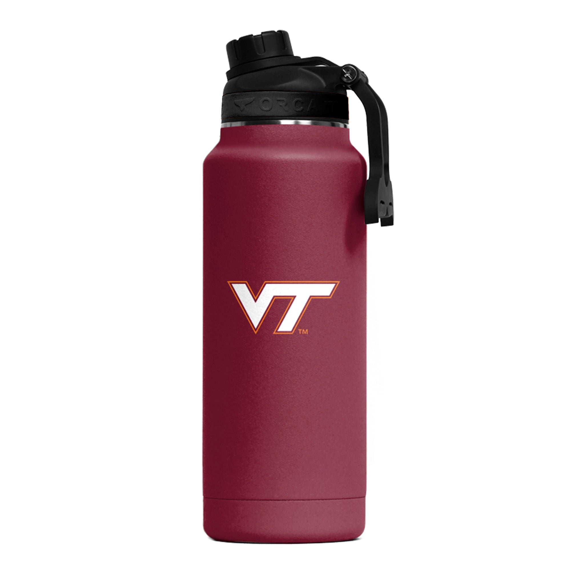 Virginia Tech Color Logo Hydra 34oz - ORCA
