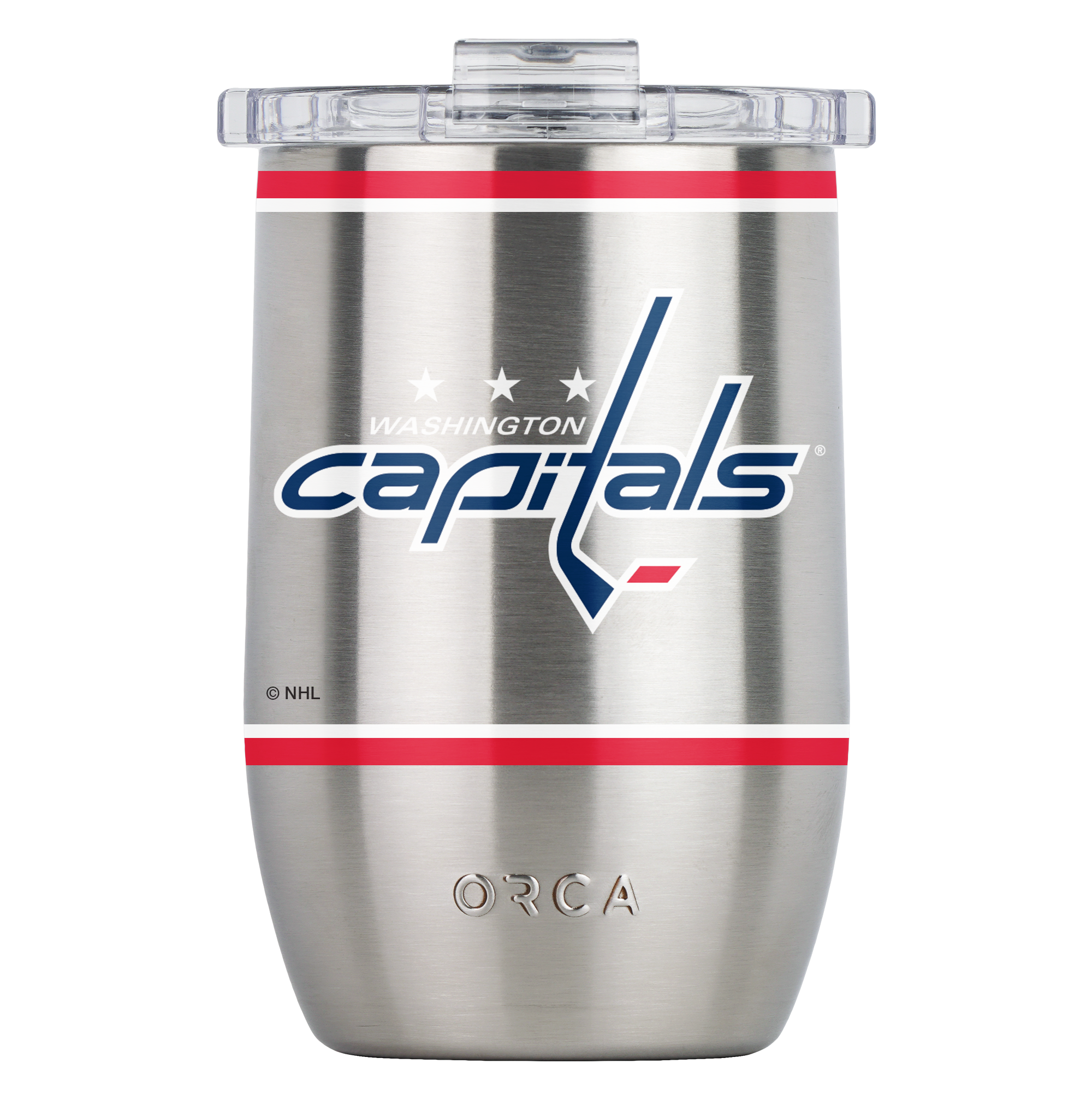 Washington Capitals Large Logo Vino 12oz