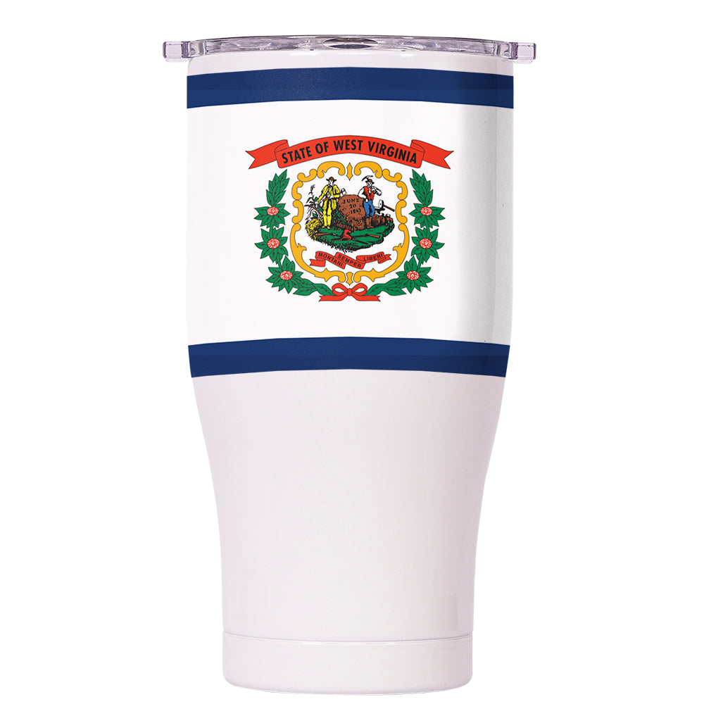 West Virginia State Flag Chaser 27oz - ORCA