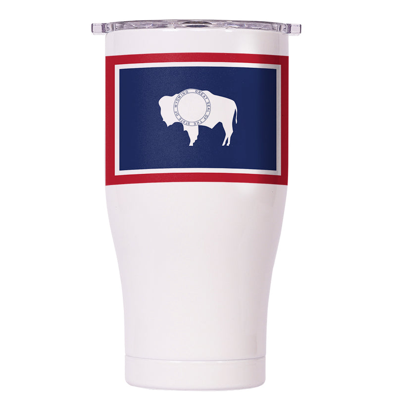 Wyoming State Flag Chaser 27oz - ORCA