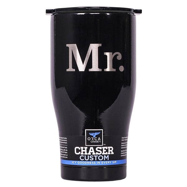 Mr. 27oz Chaser Black/Black - ORCA