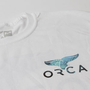 Ocean Logo White Short Sleeve