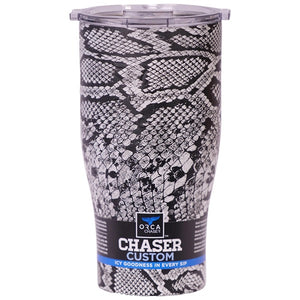 Black Snakeskin/Clear 27oz Chaser - ORCA