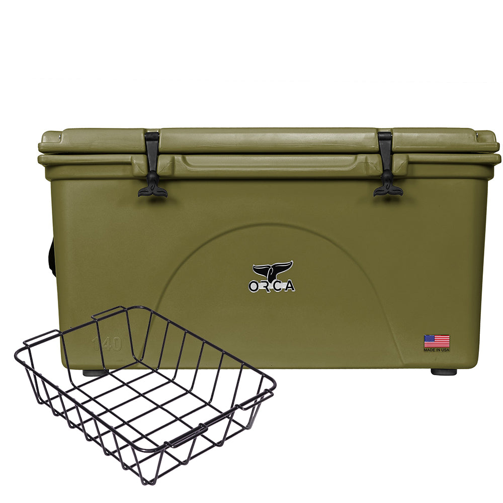 Green 140 Quart Basket Kit