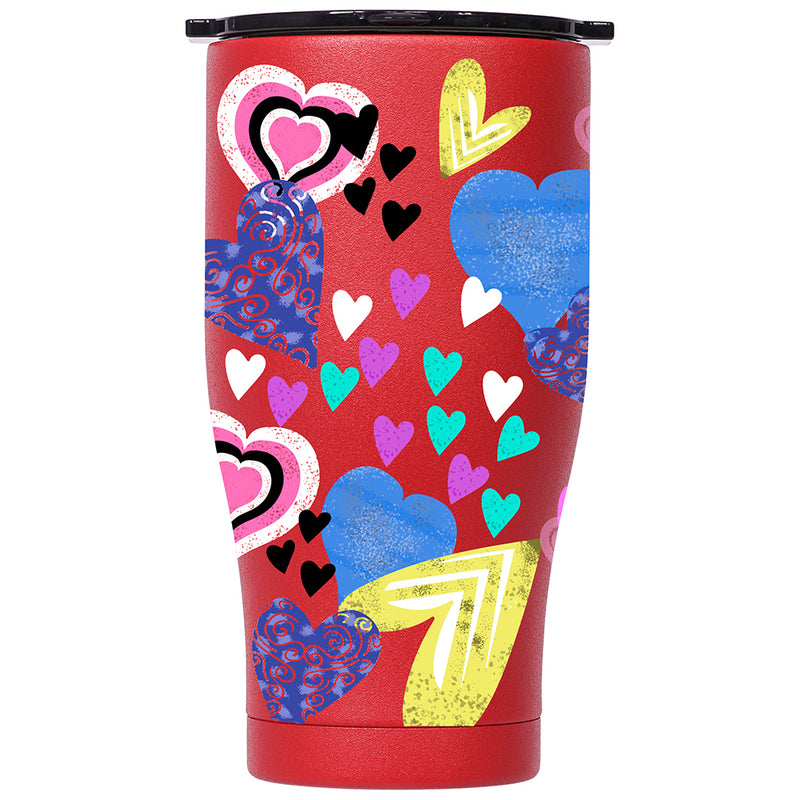 Feel the Love 27oz Chaser Red/Black - ORCA