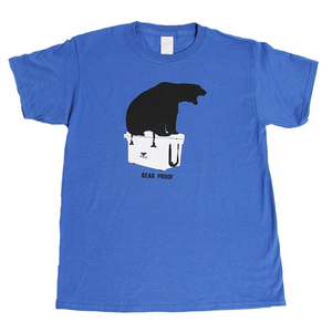 Bear Proof Royal Short Sleeve Blue Youth