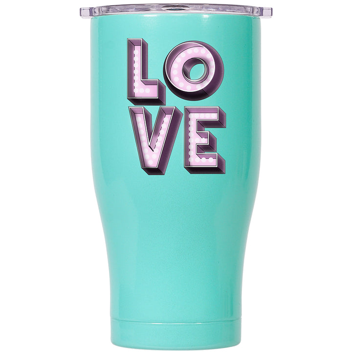Love Light 27oz Chaser Seafoam/ Clear - ORCA