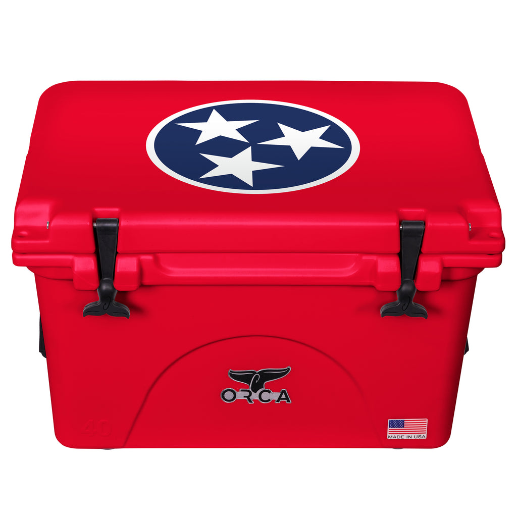 Tennessee Tristar 40 Quart Red - ORCA