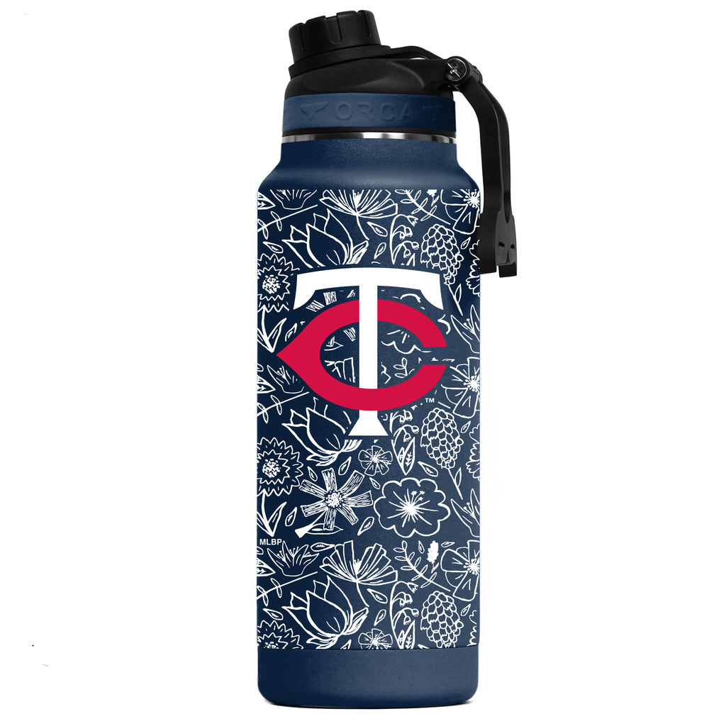 Minnesota Twins Floral Sketch Hydra 34oz - ORCA