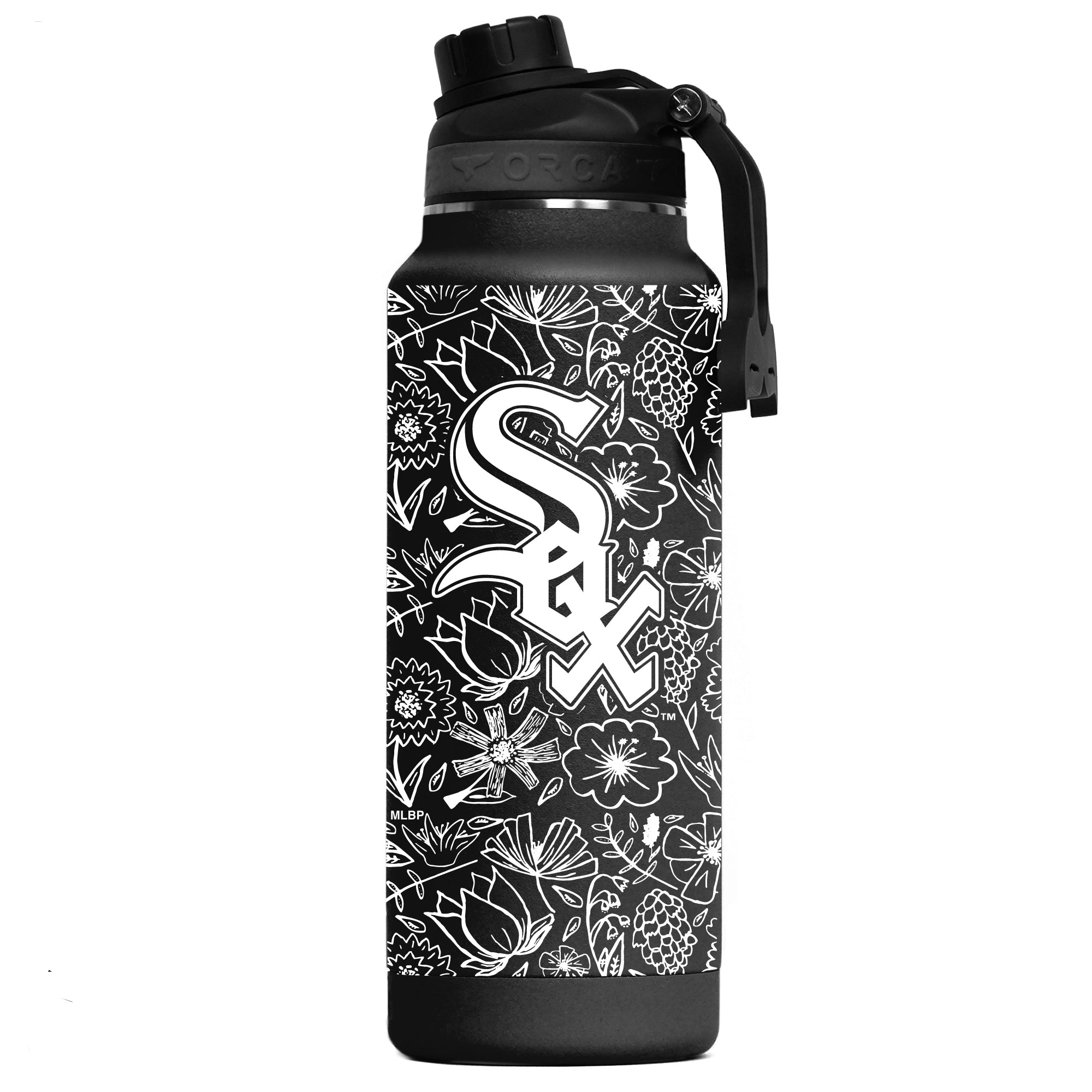 Chicago White Sox Floral Sketch Hydra 34oz - ORCA