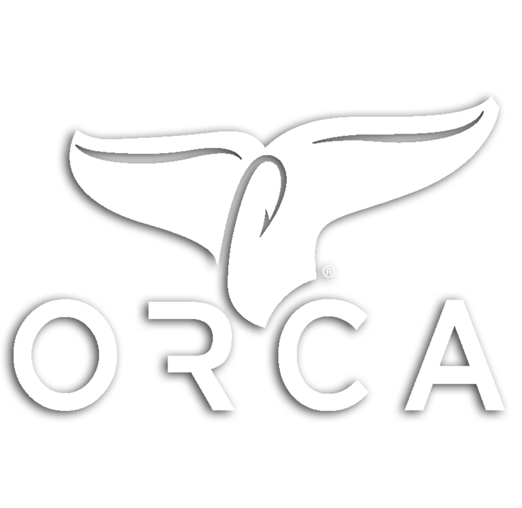 Whale Tail Decal White - ORCA