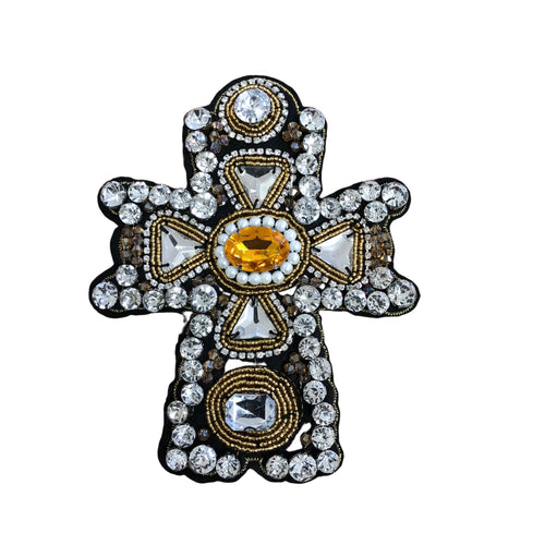 Cross - silver/gold (patch)
