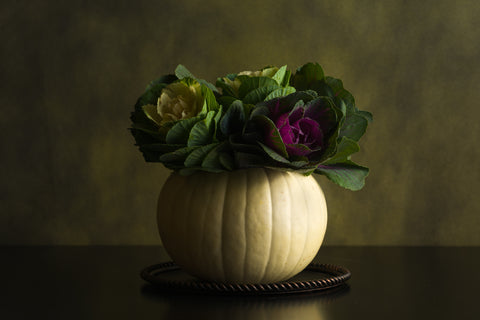White Pumpkin Vessel