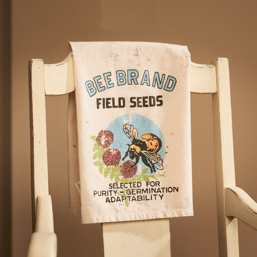 Bee Brand Field Seeds Tea Towel