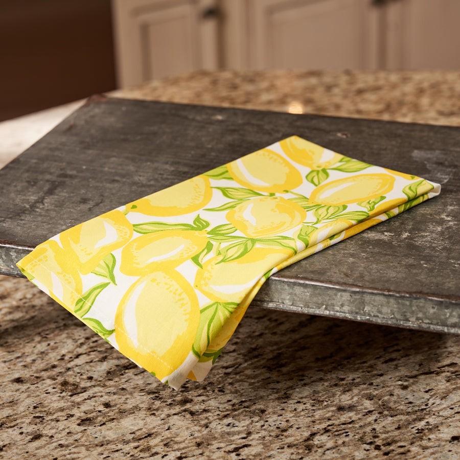 Lots of Lemons Cotton Tea Towel