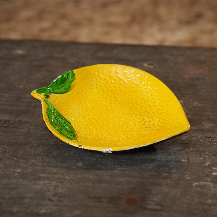 Decorative Cast Iron Lemon Dish