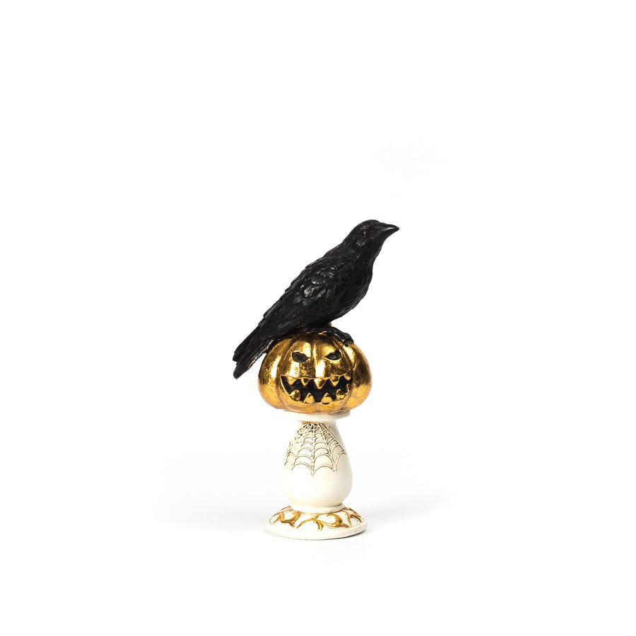 Crow on Pedestal