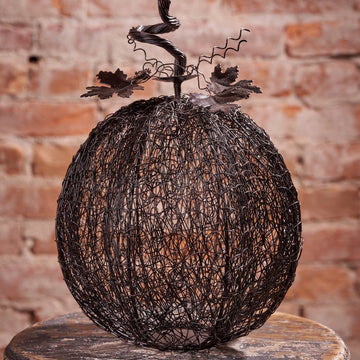 Mesh Wire Pumpkin, Large