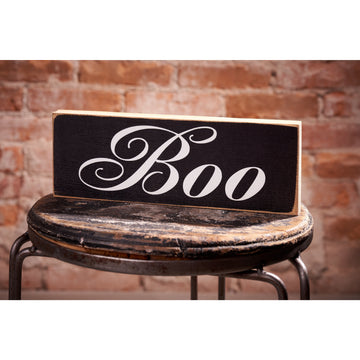 Scripty Boo Sign