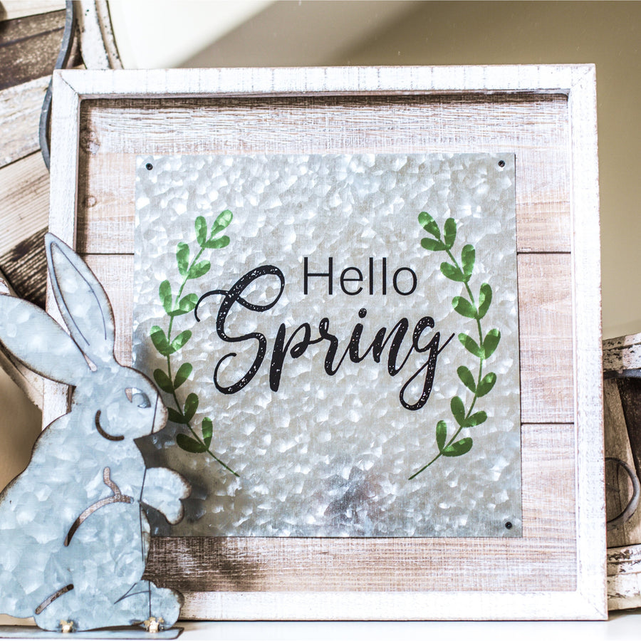 Hello Spring Wall Art