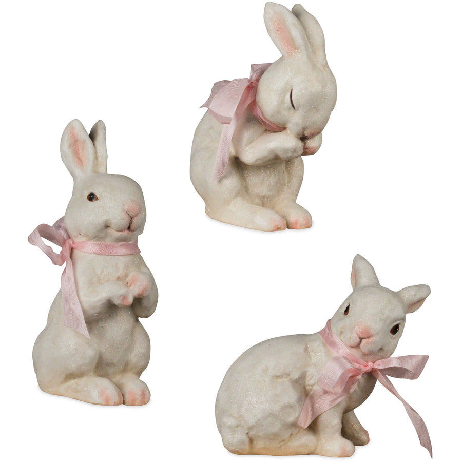 Playful Bunny Trio, Set/3