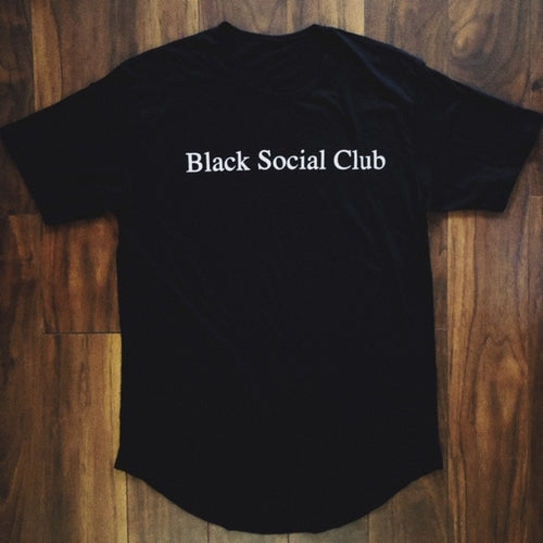 Black Social Club T-Shirt- Black