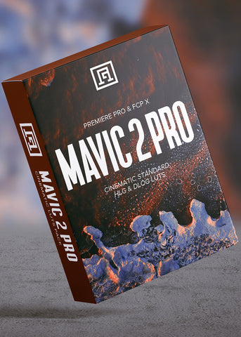 Mavic 2 Pro DLog-M, HLG, & Normal LUT Pack + Creative LUTs