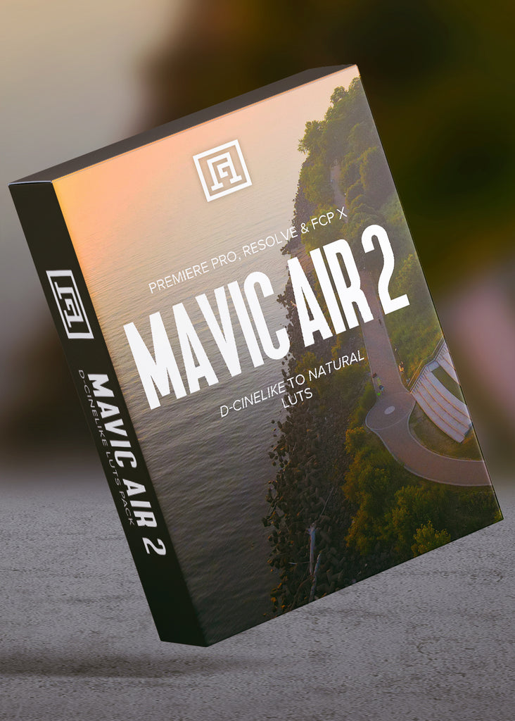 Mavic Air 2 D-Cinelike LUTs | Convert D-Cinelike to Natural-looking Footage for Grading