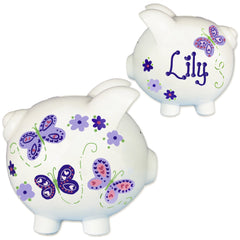 Hand Painted Piggy Banks