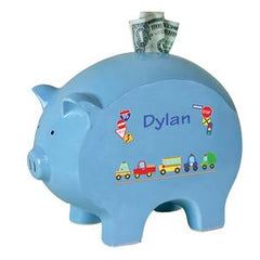 Blue Piggy Banks