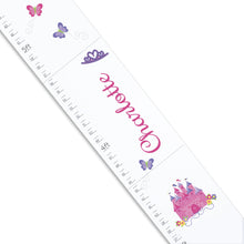 Personalized White Growth Chart- main